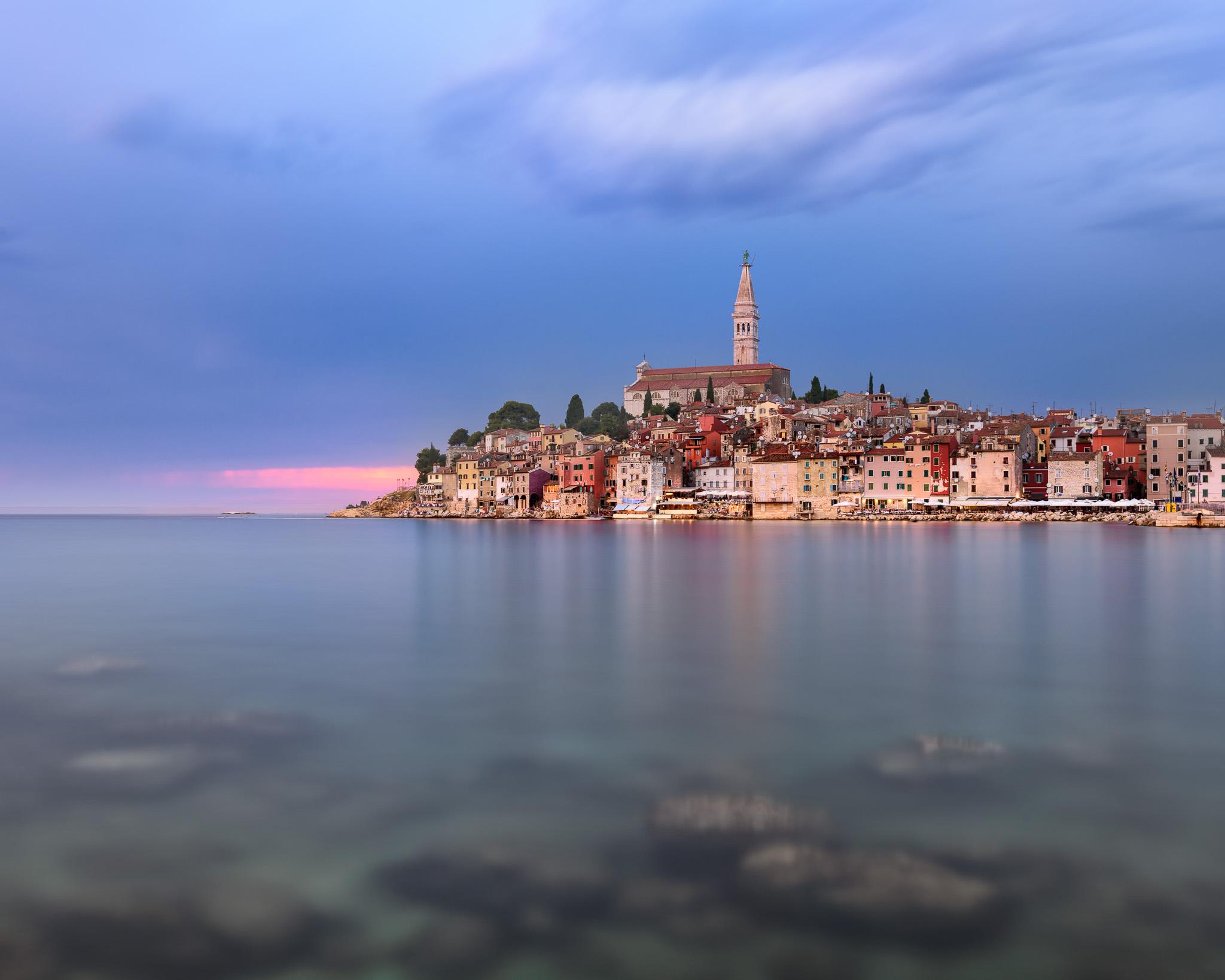Rovinj Skyline, Istria, Croatia, Croatia