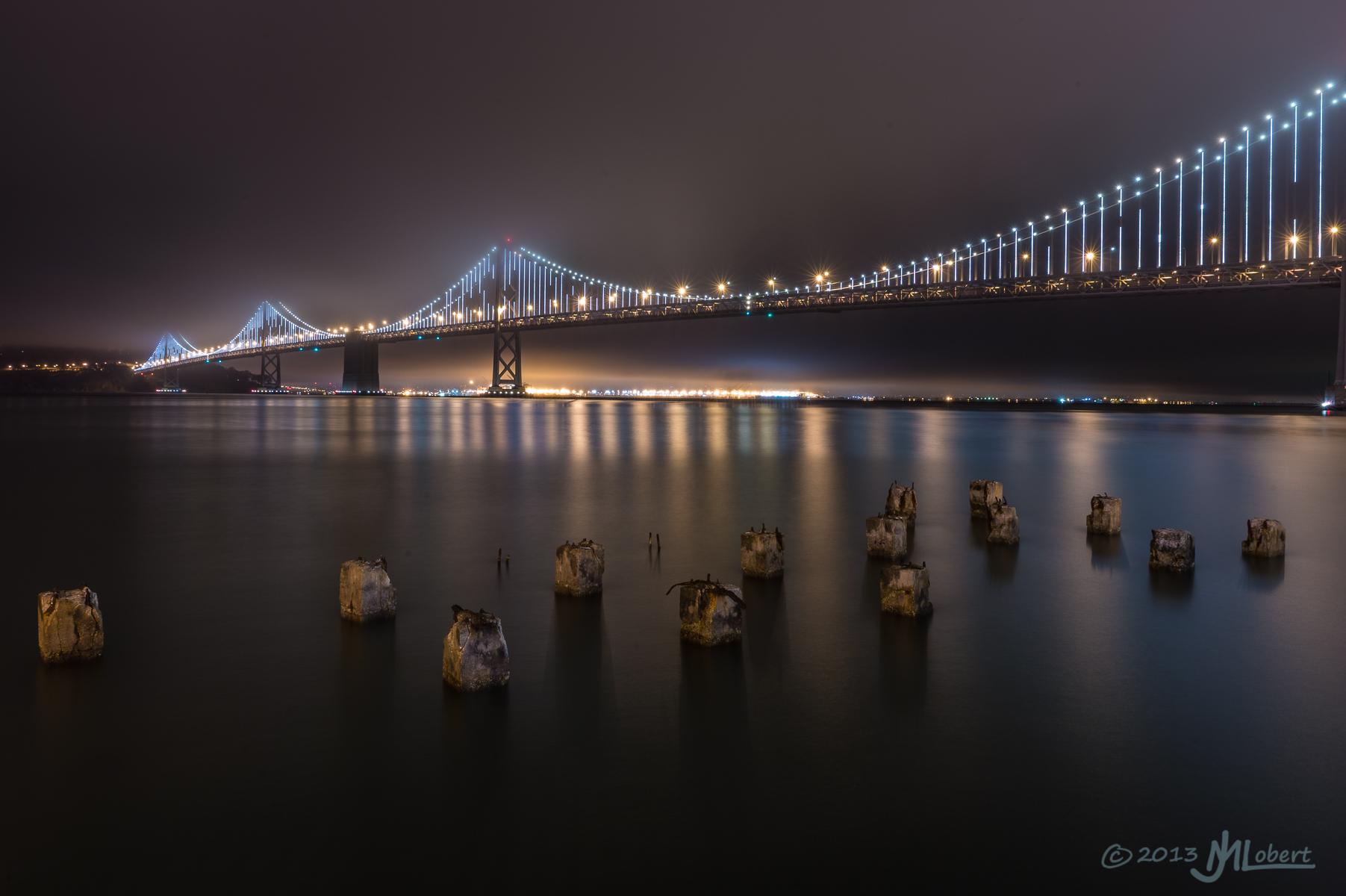 San Francisco Bay Bridge, Embarcadero, CA, USA