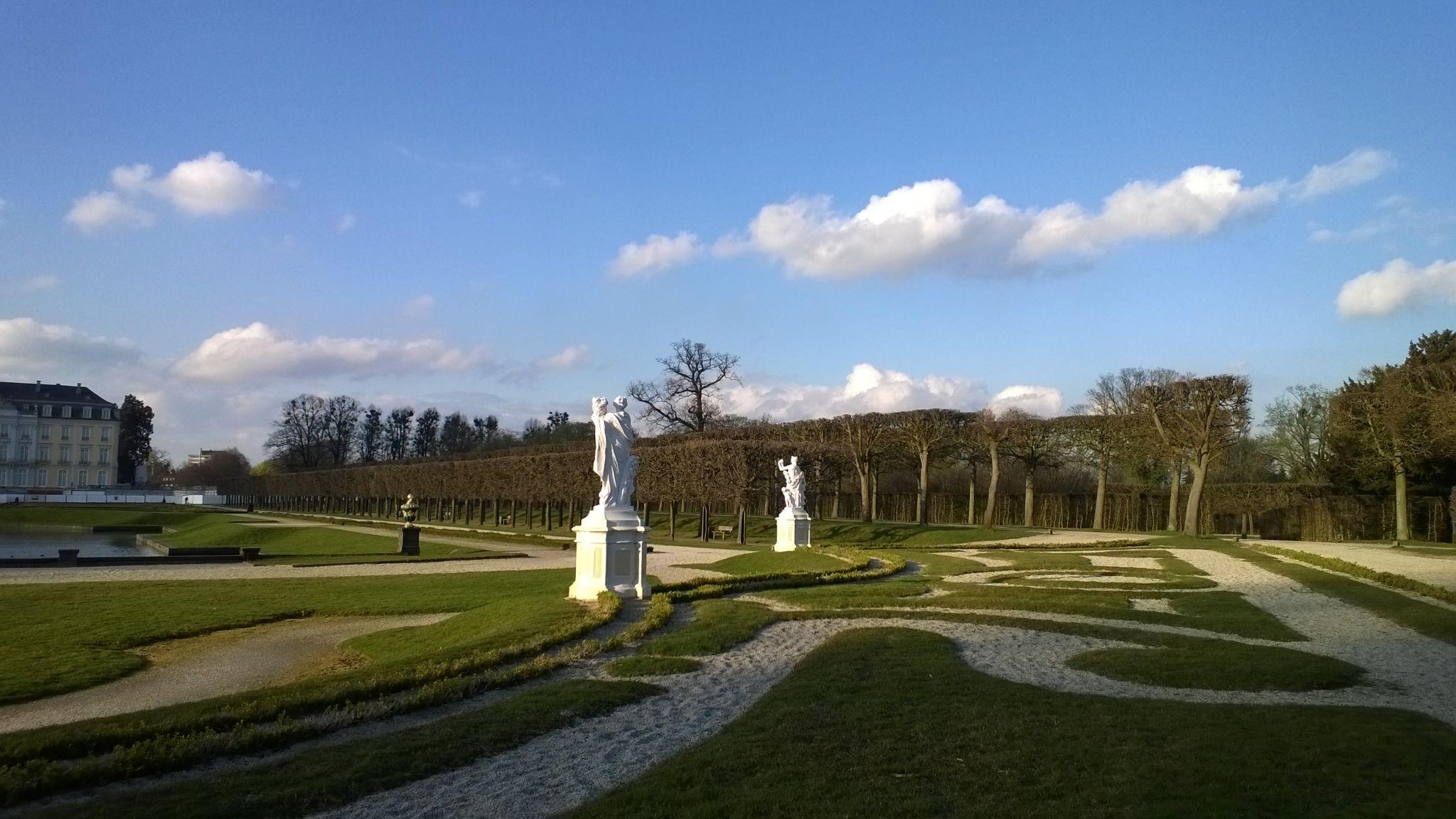 Schlosspark Schloss Augustusburg, Germany