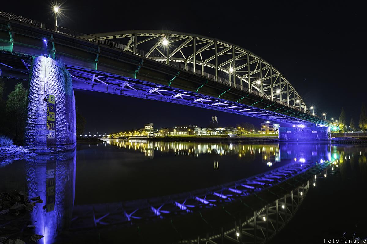 Skyline Arnhem + John Frost bridge, Netherlands
