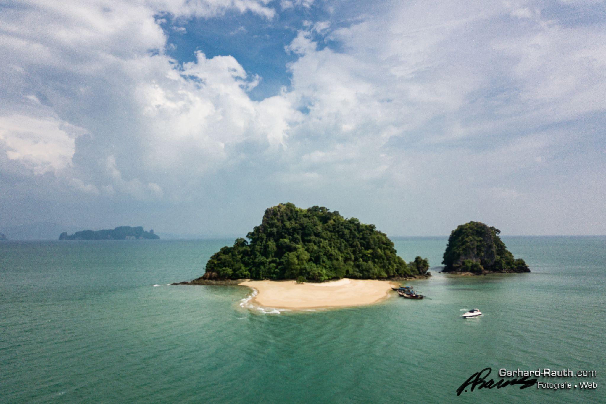 Tropical Island Koh Nok, Thailand