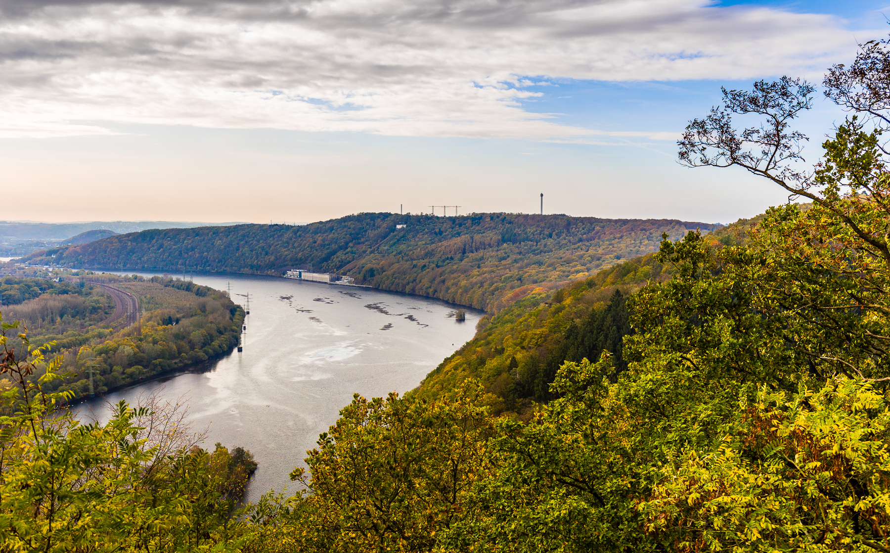 View over the Ruhr-Valley, Germany