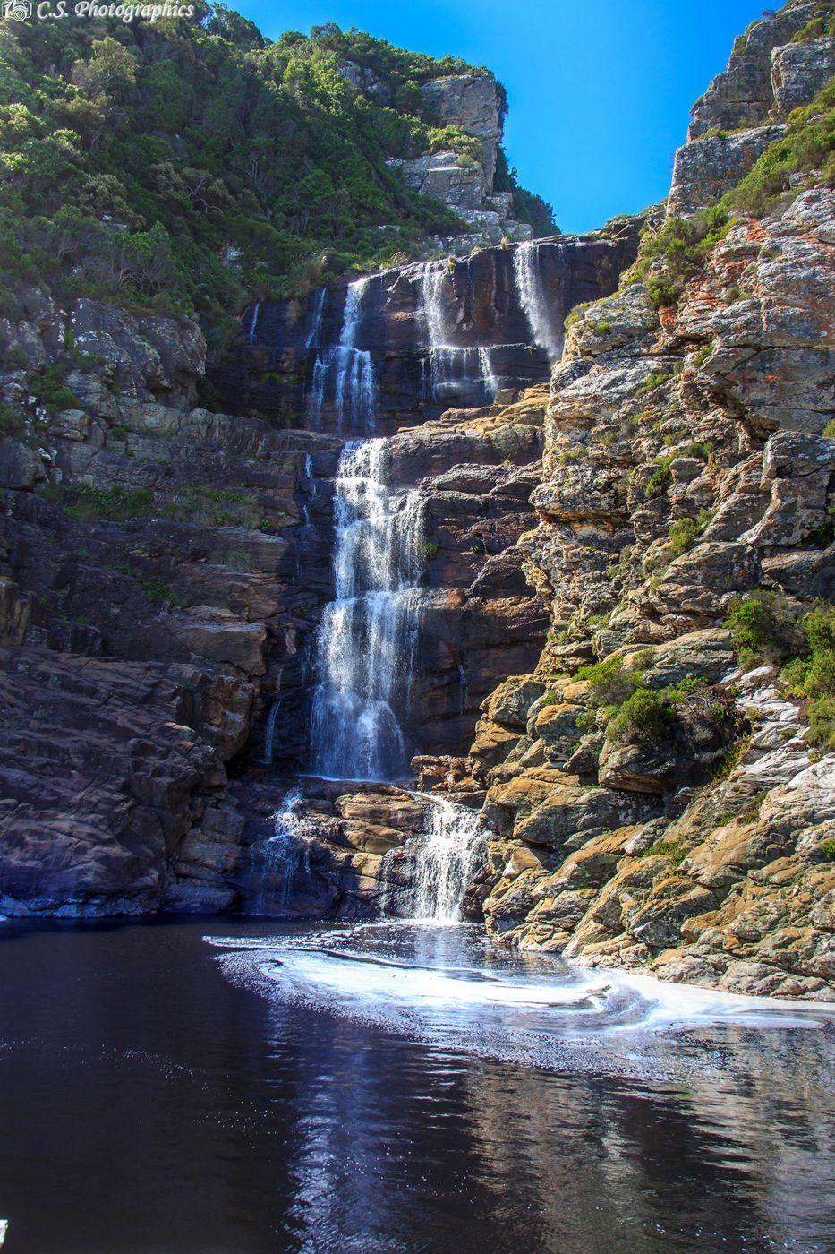 Waterfall of Tsitsikamma, South Africa