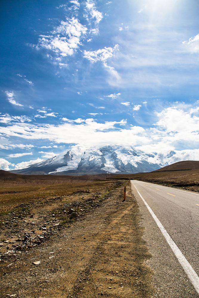 Auf dem Karakorumhighway, Kyrgyz Republic