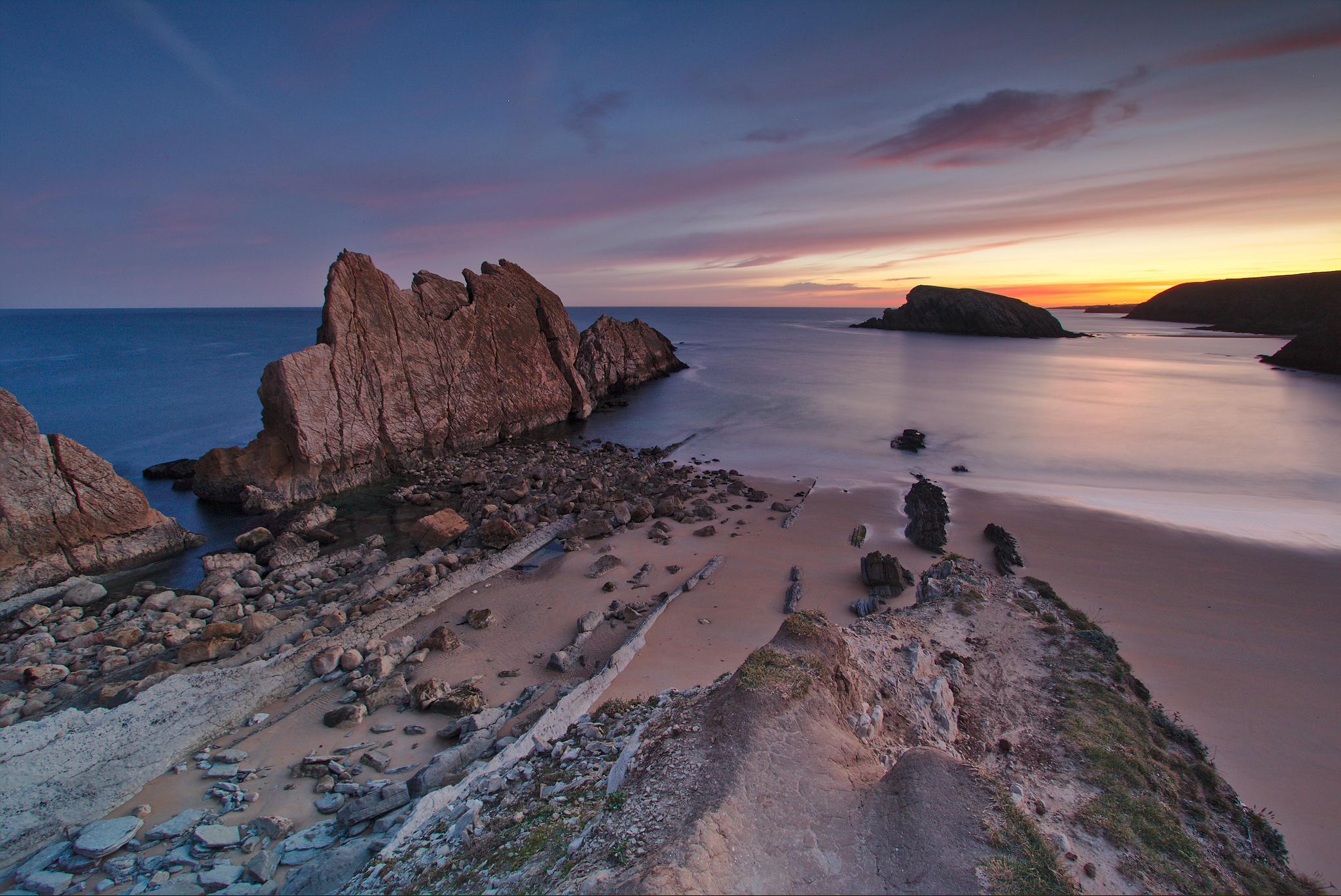 Cantabria, Playa La Arnia, Spain