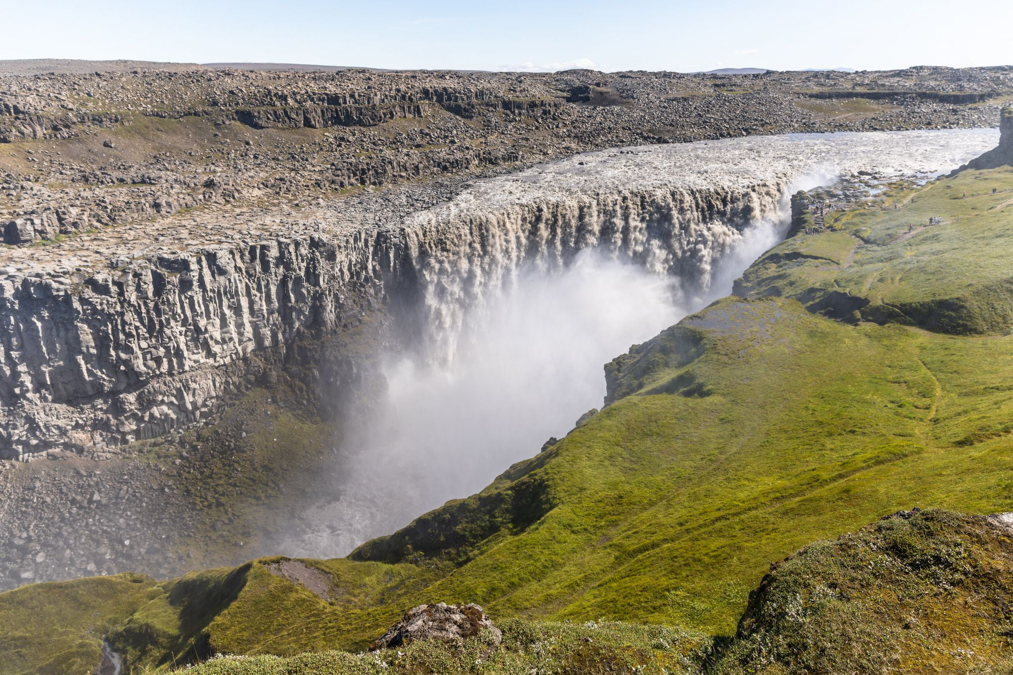 Dettifoss, western side (frontal view), Iceland