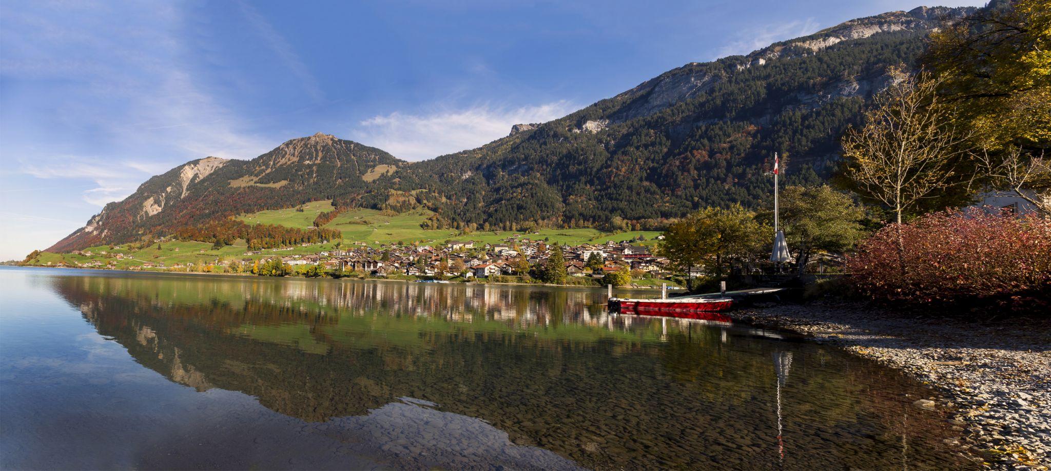 Lungern panorama, Switzerland