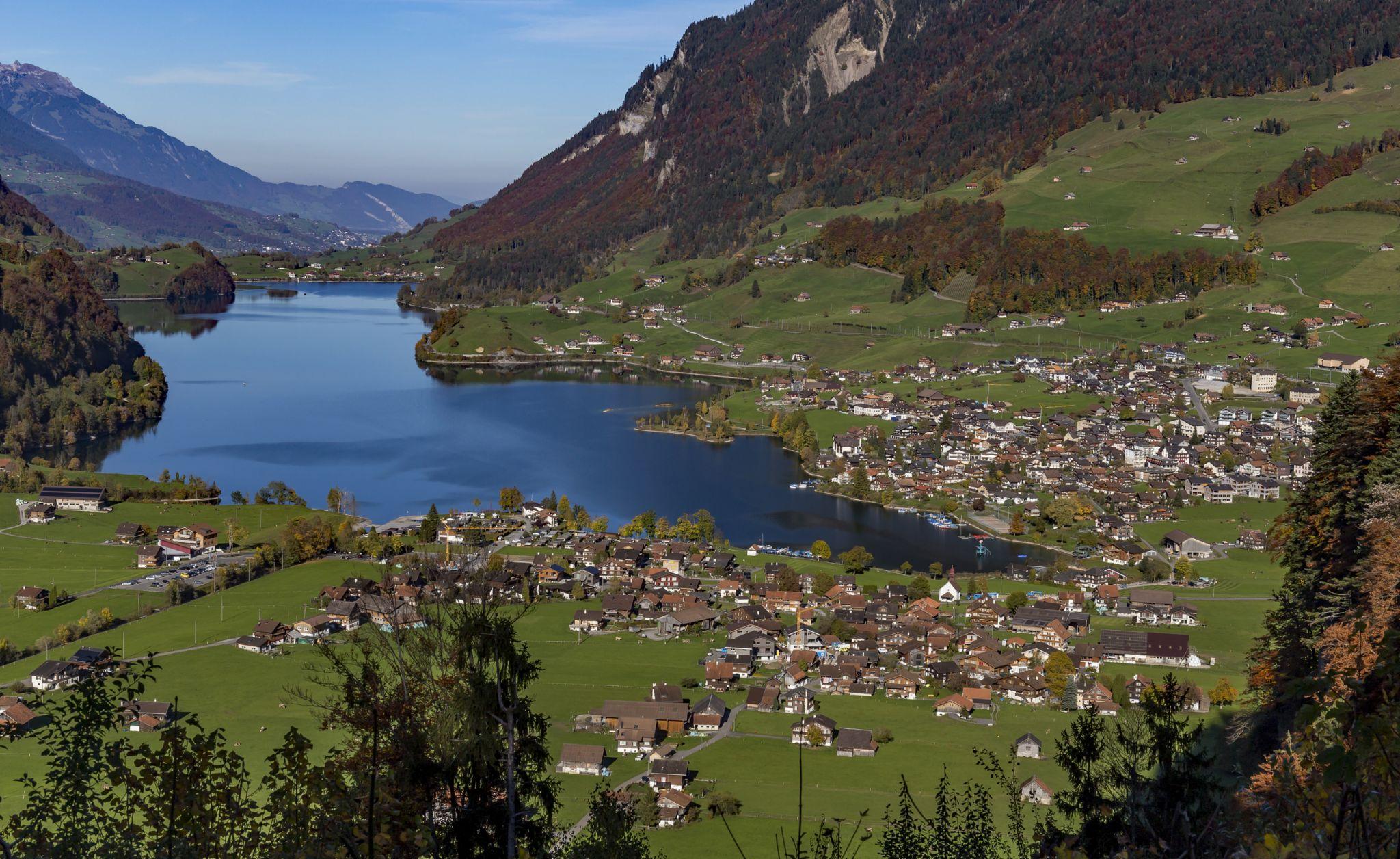 Lungern View, Switzerland