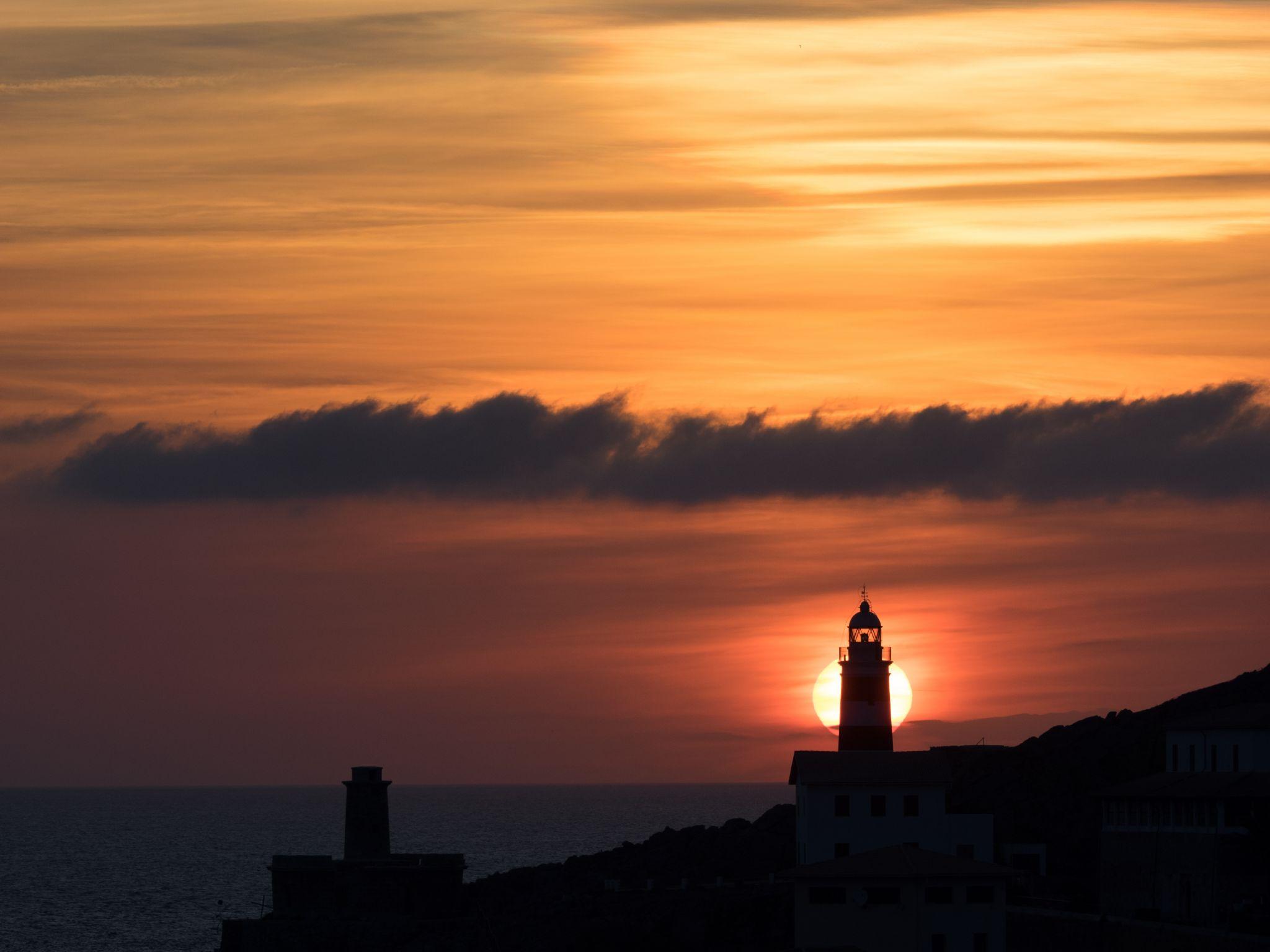 Sunset at Port de Sóller, Spain