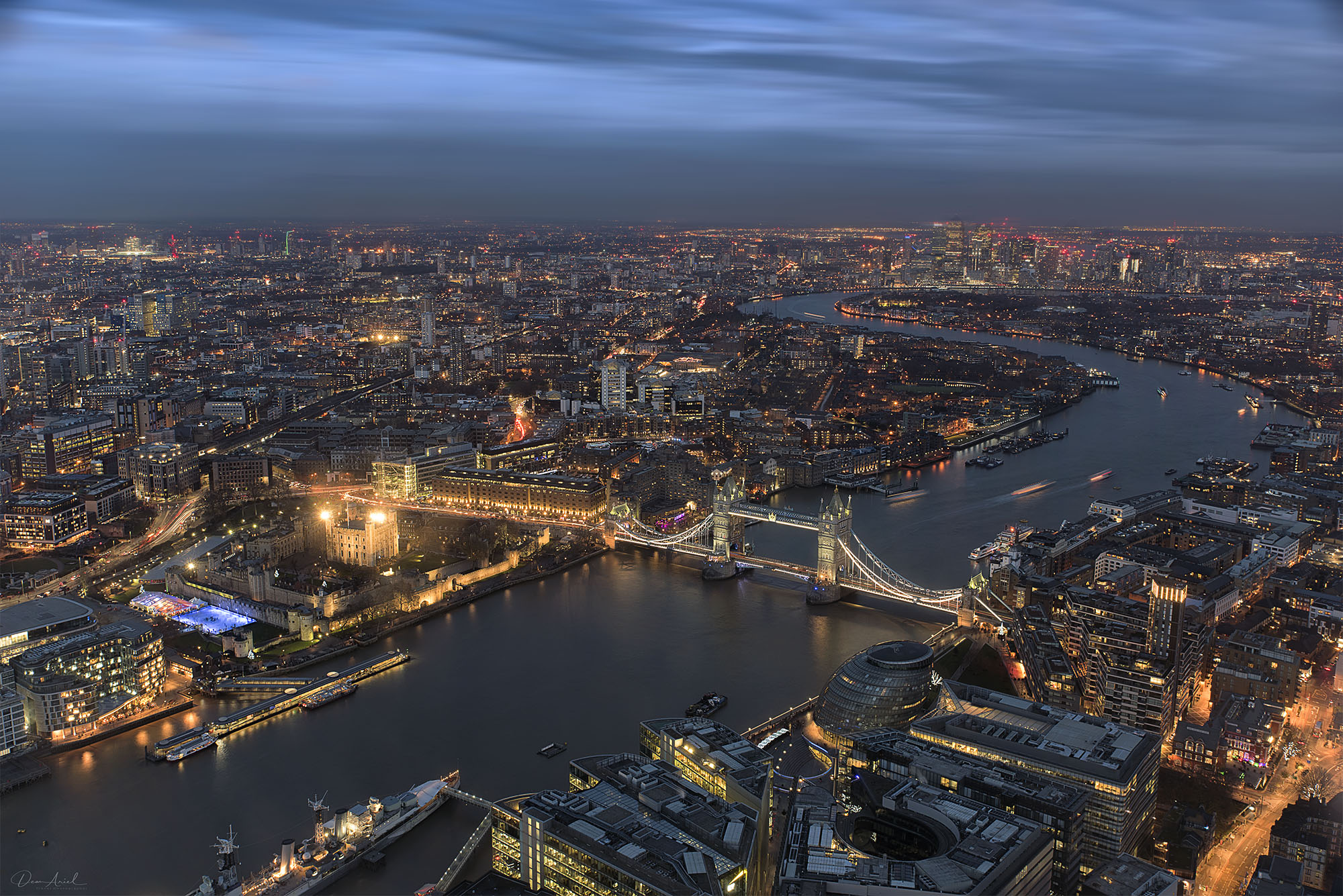 The view from the Shard, United Kingdom