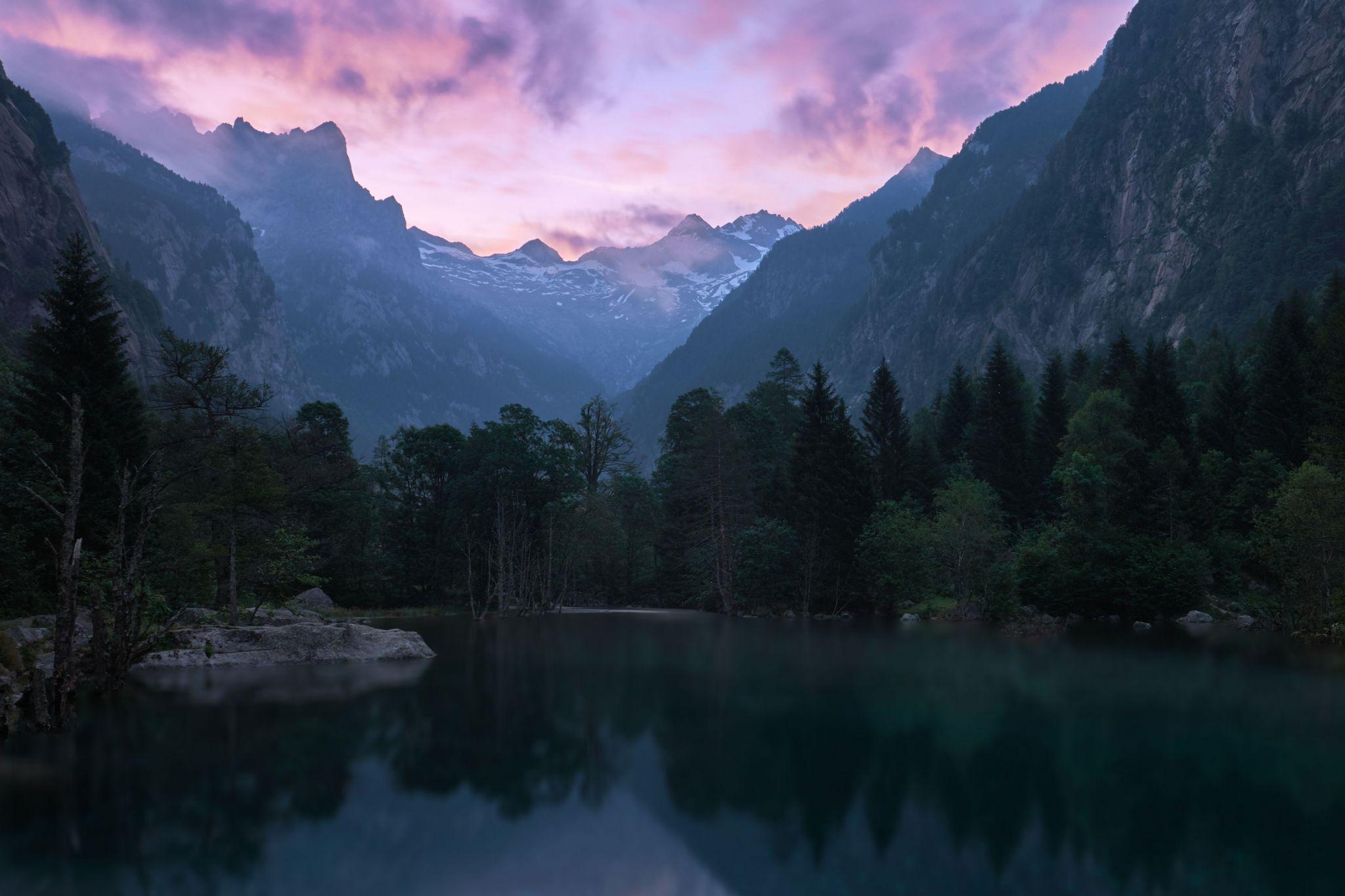 Val di Mello Nature Reserve, Italy