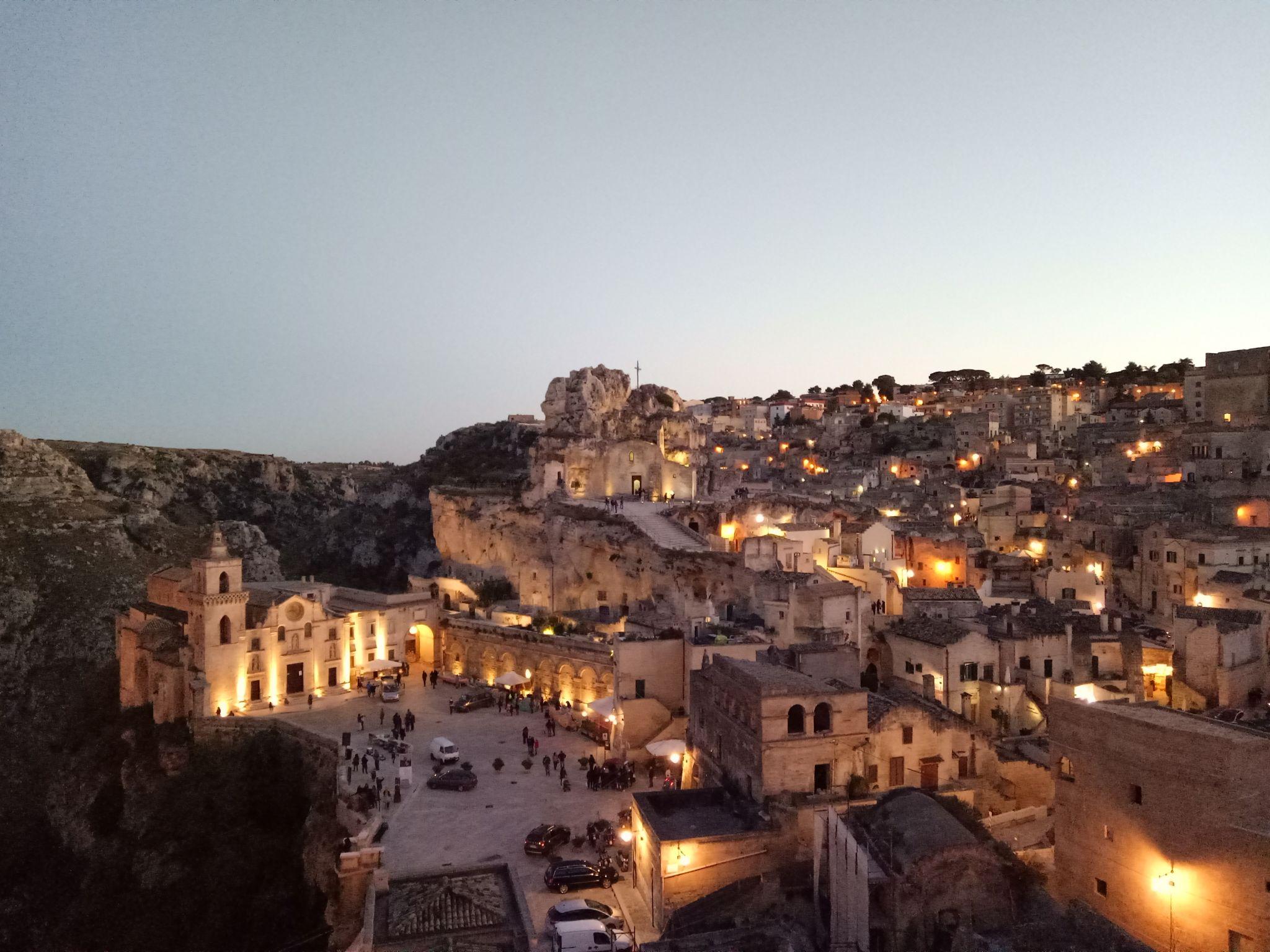 View over Sasso Caveoso, Italy