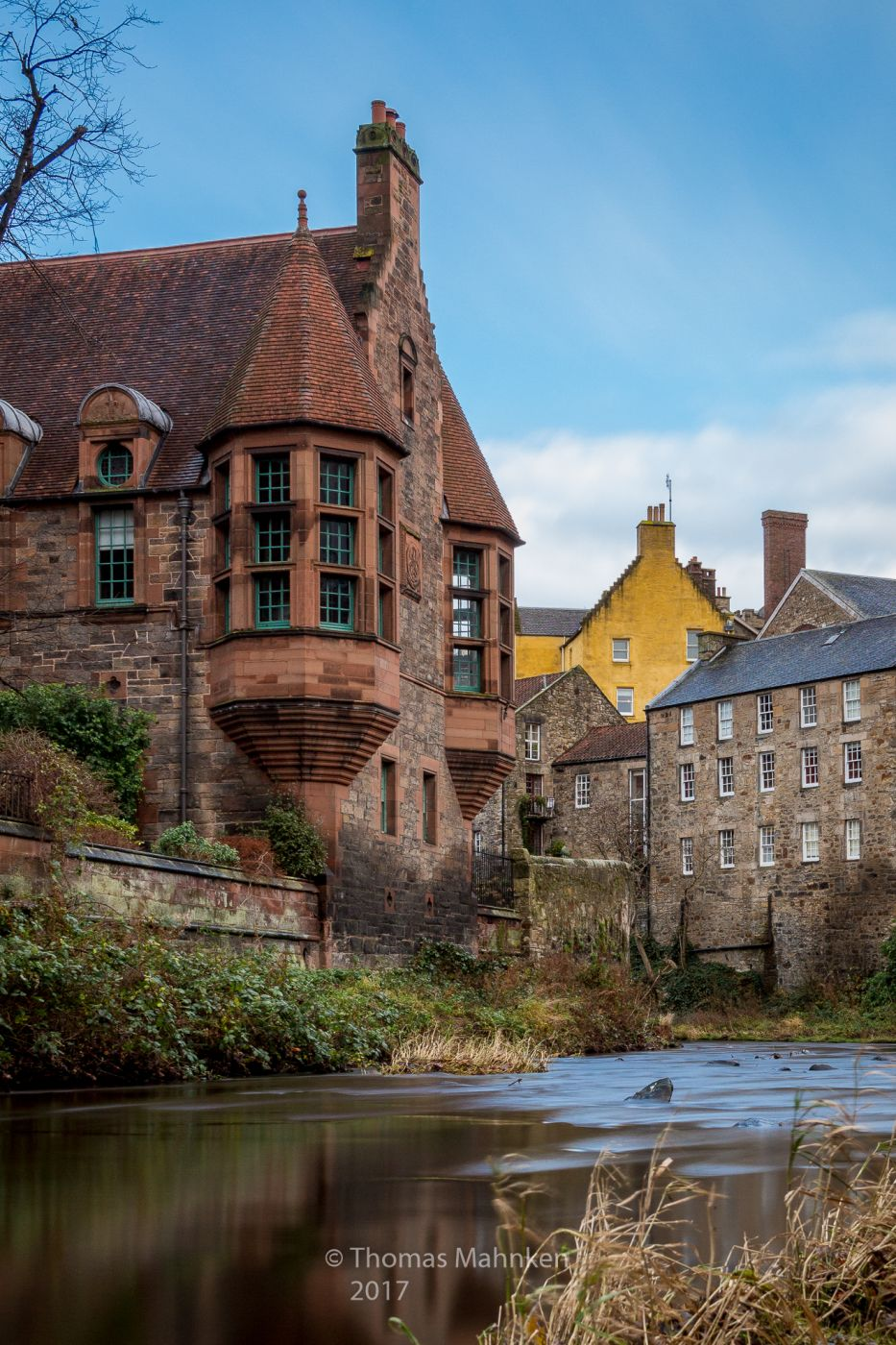 Well Court at Dean Village, United Kingdom