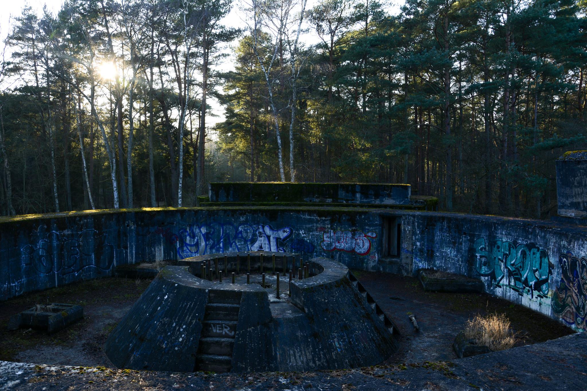 WW2 Bunkers at Dueodde, Denmark