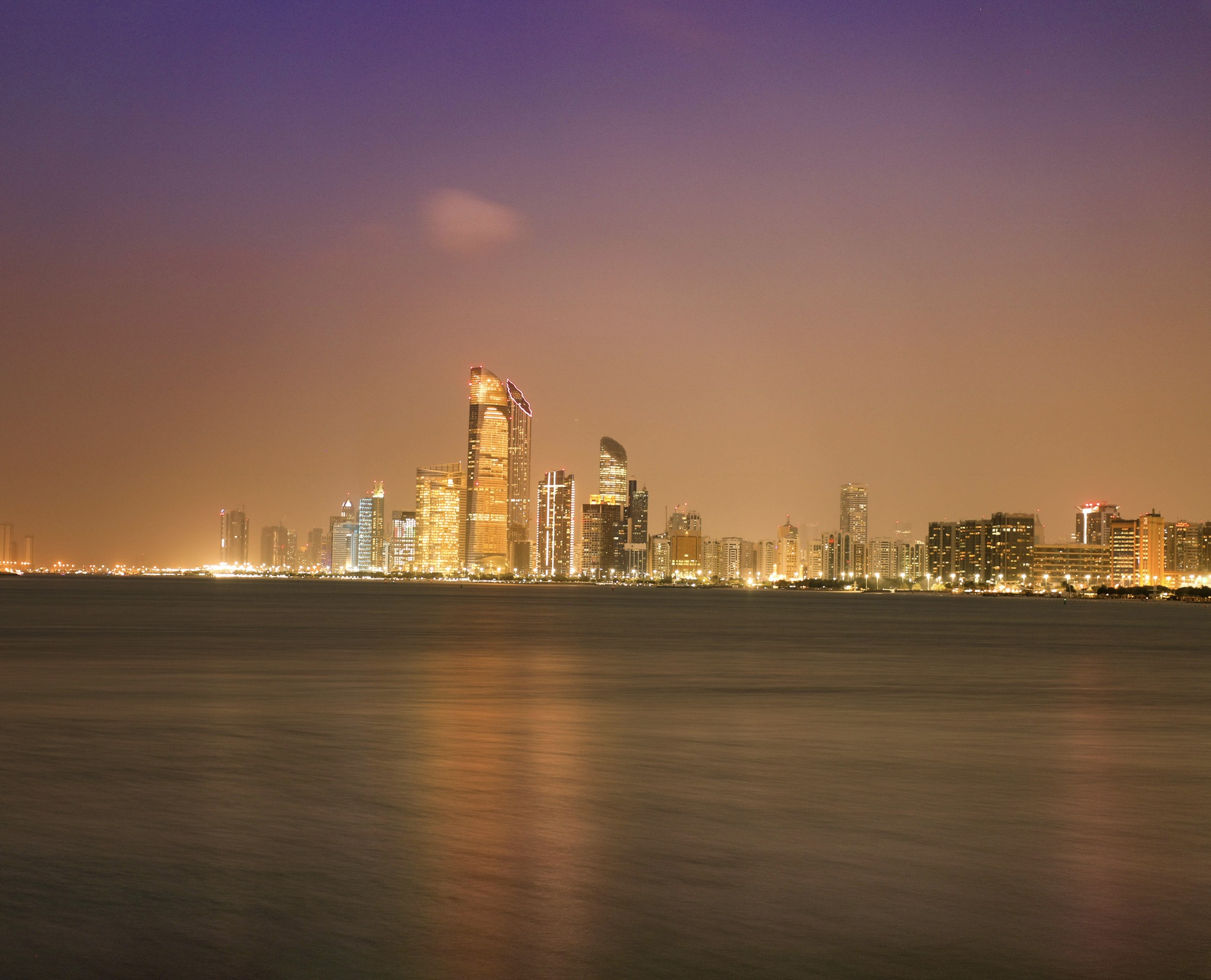 Abu Dhabi corniche, United Arab Emirates