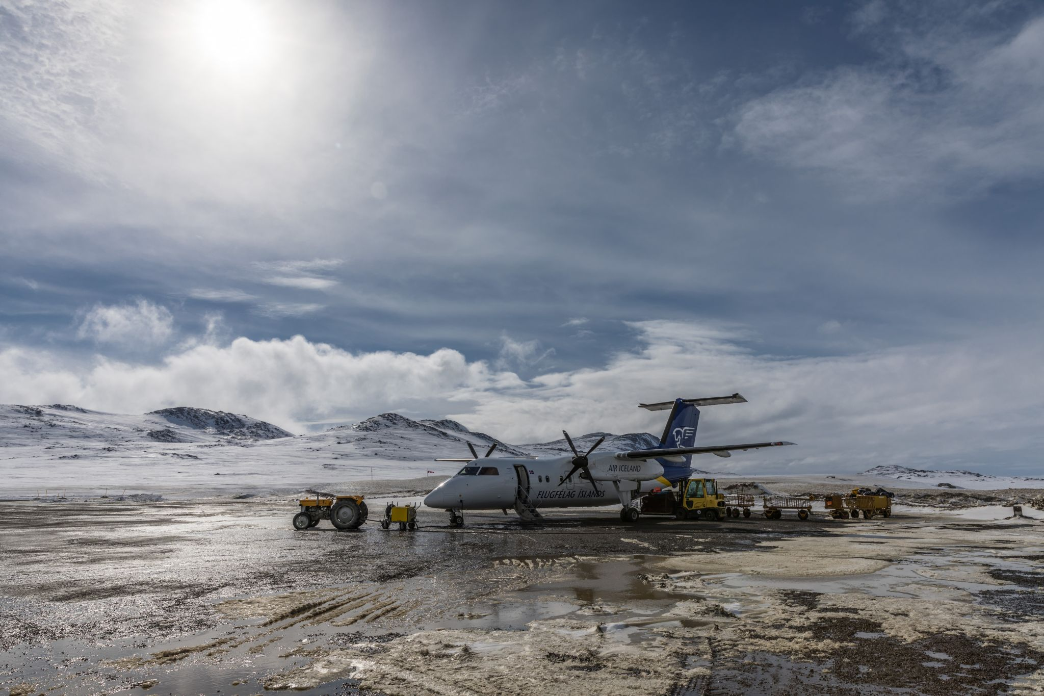 Airport Kulusuk, East Greenland, Greenland