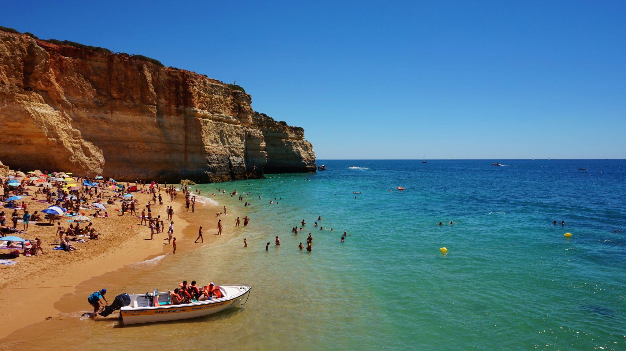 Benagil Beach, Portugal