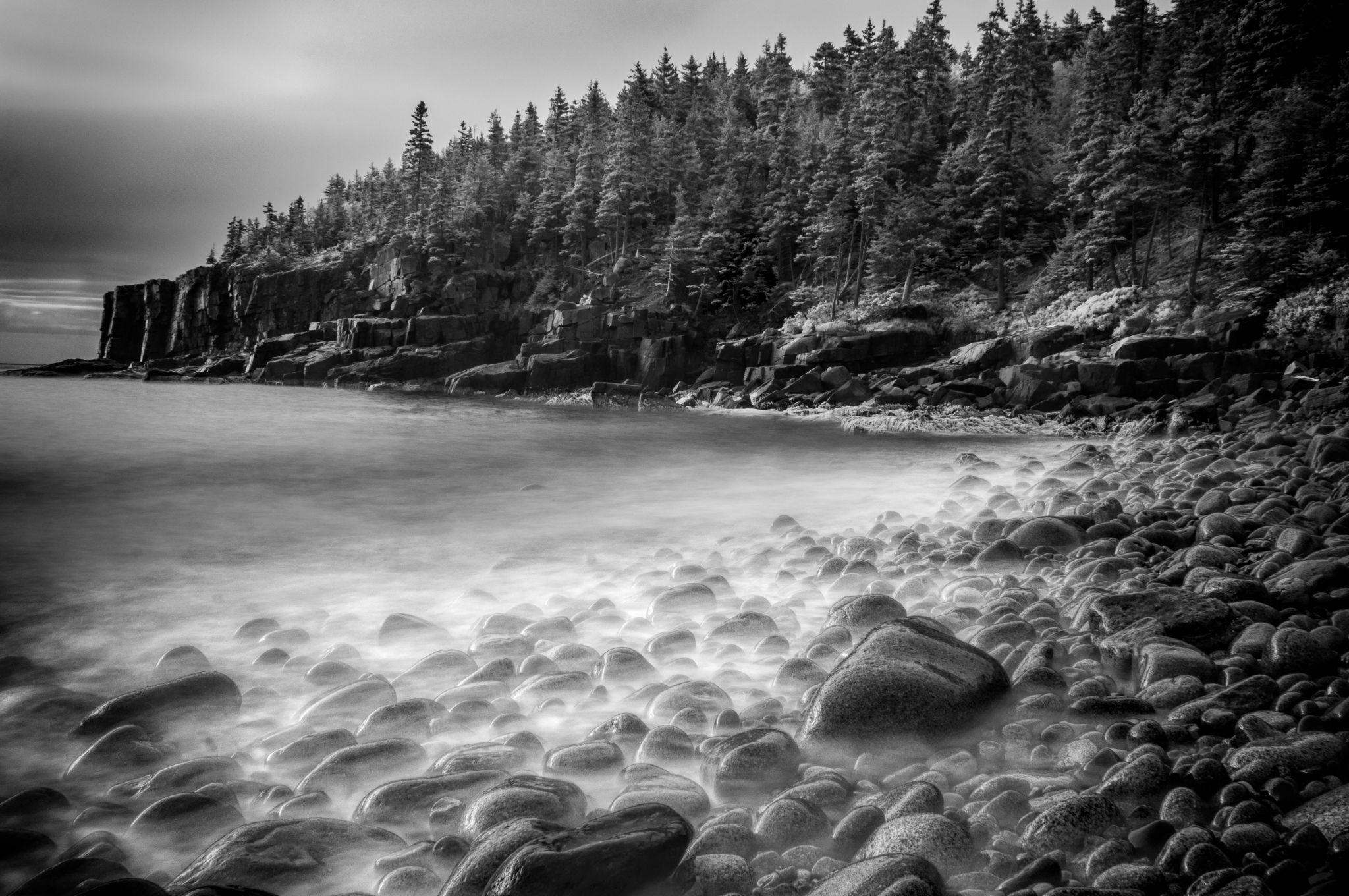 Boulder Beach - Acadia National Park, USA