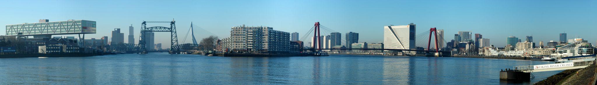 Bridges of Rotterdam, Netherlands