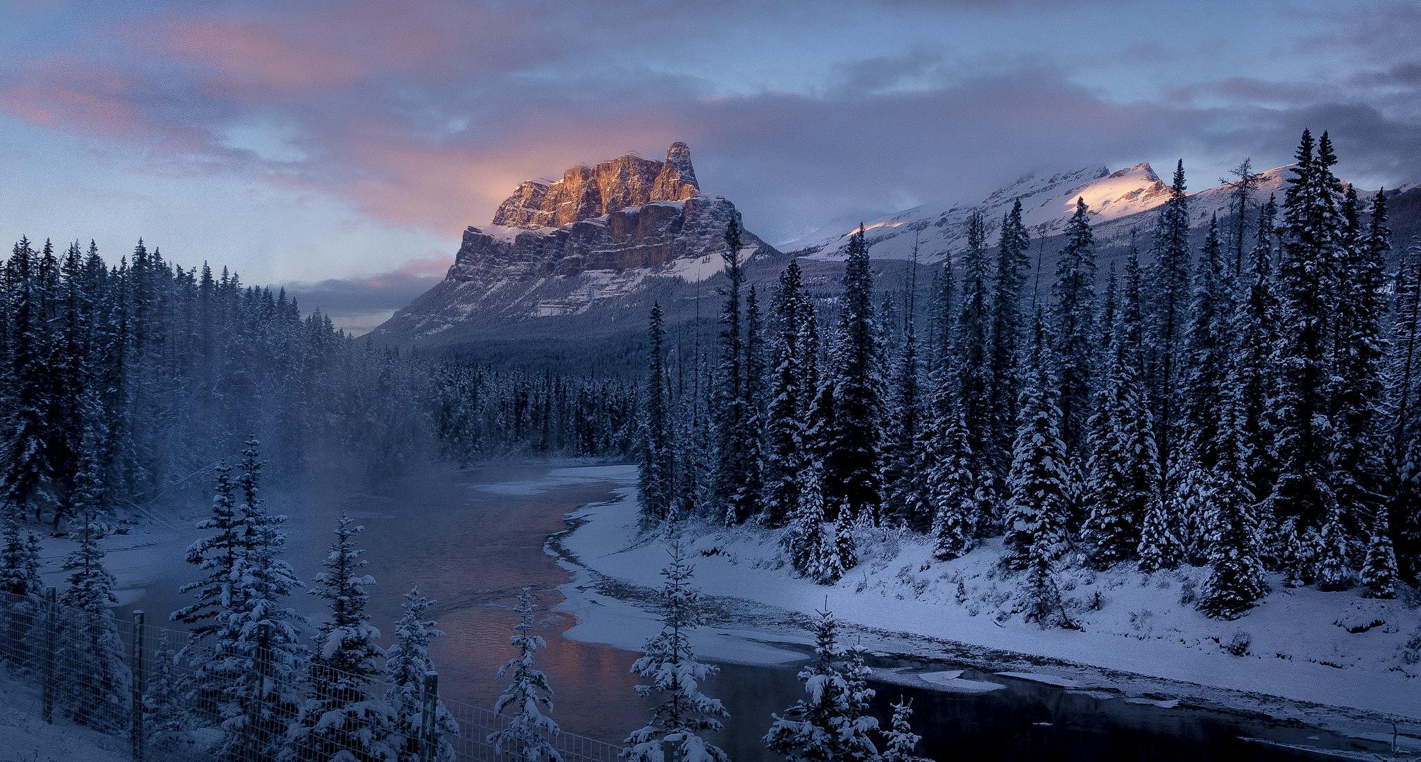 Castle Mountain, Banff National Park, Canada, Canada