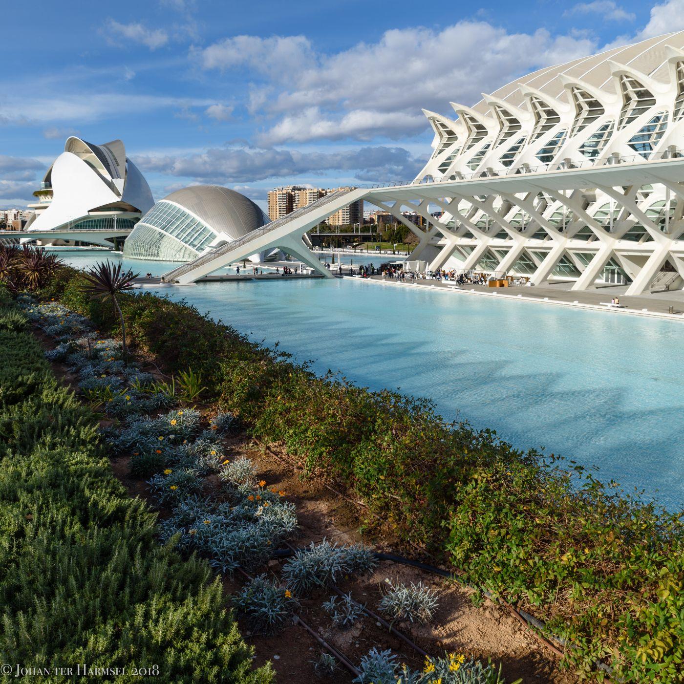 Ciudad de las Artes y de las Ciencias, Spain