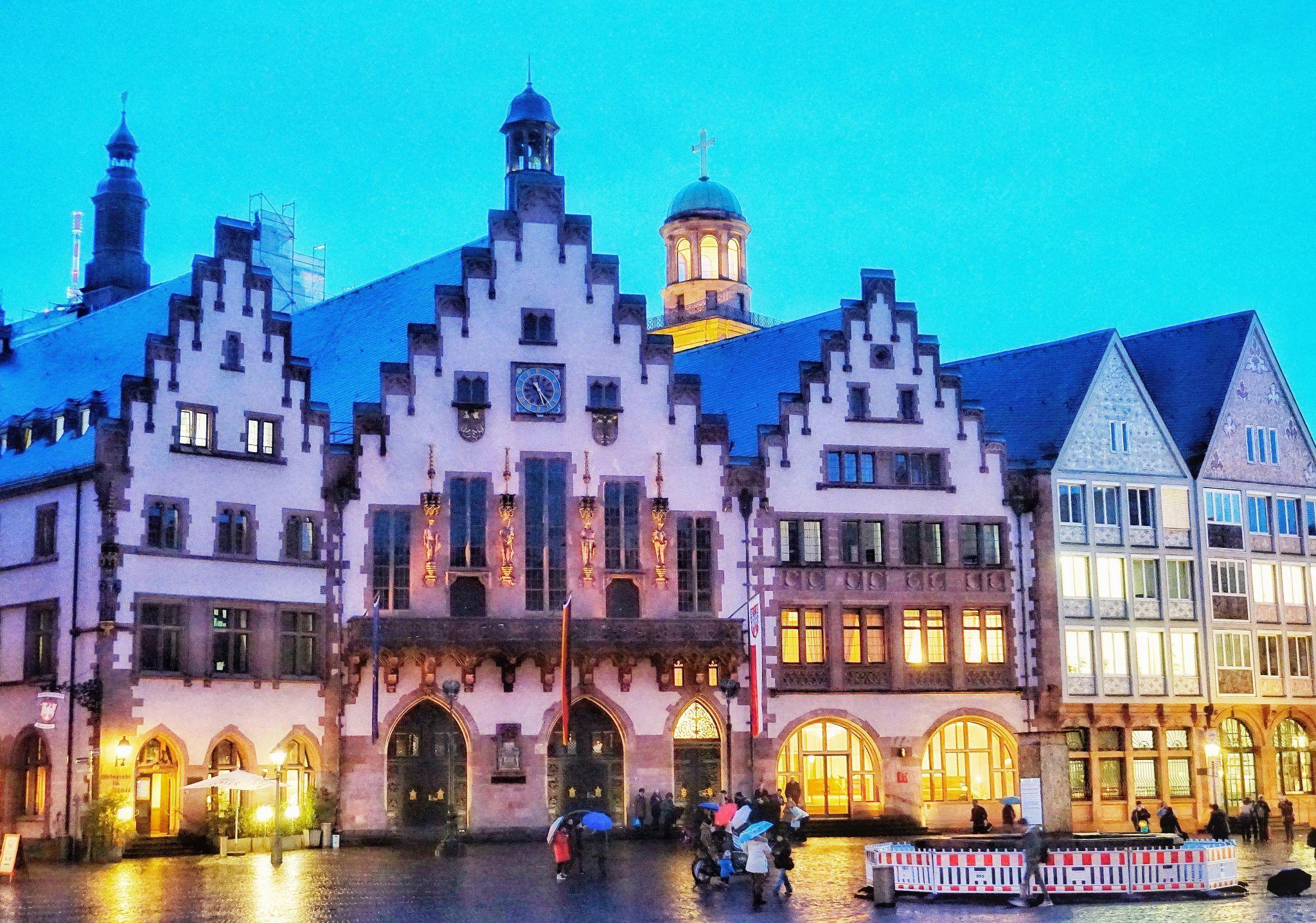 Historical Square of Frankfurt, Germany