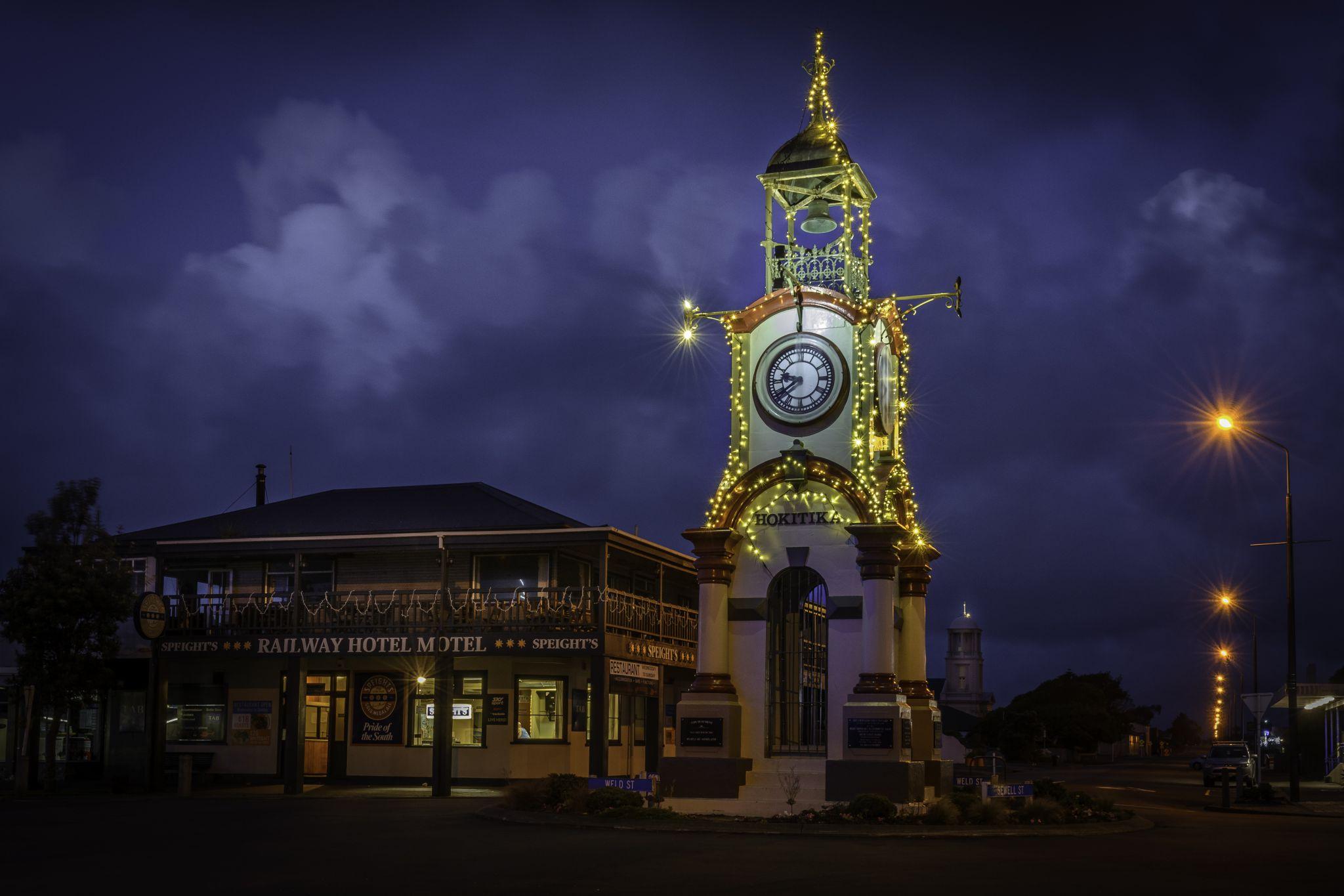 Hokitika Clock Tower, New Zealand