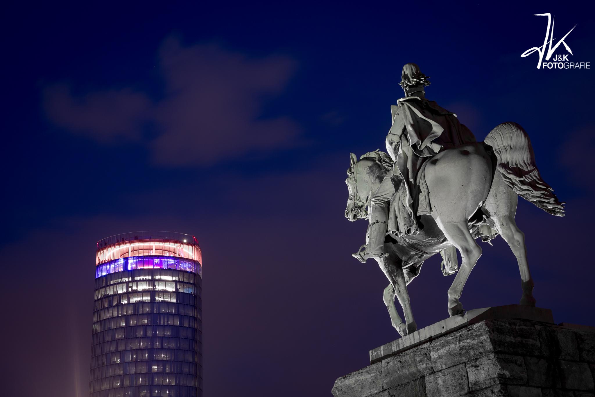 Kaiser Wilhelm Reiterstandbild, Köln, Germany