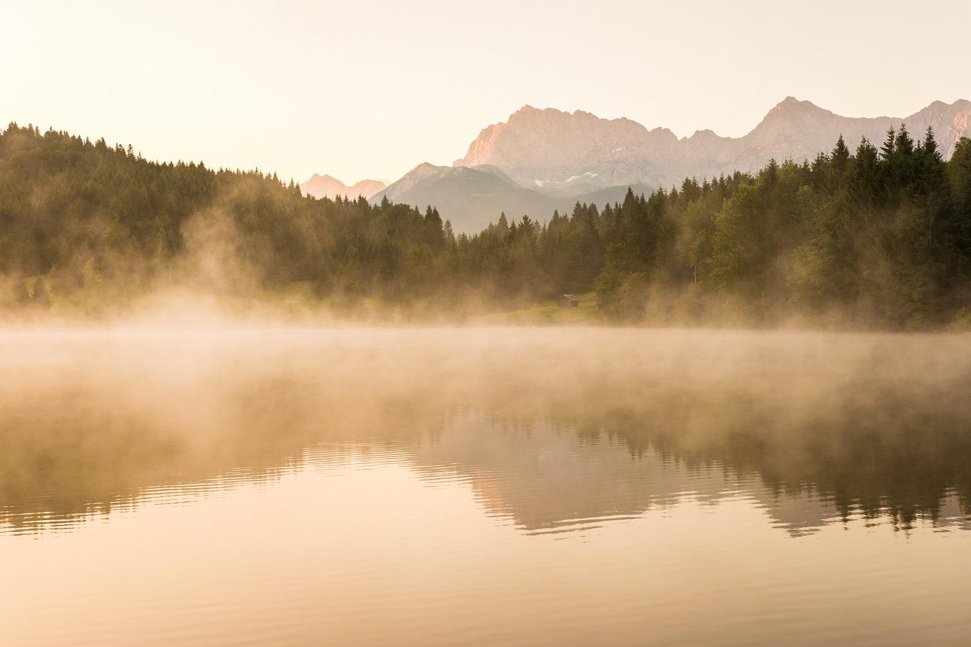 Lake Geroldsee, Karwendel, Germany