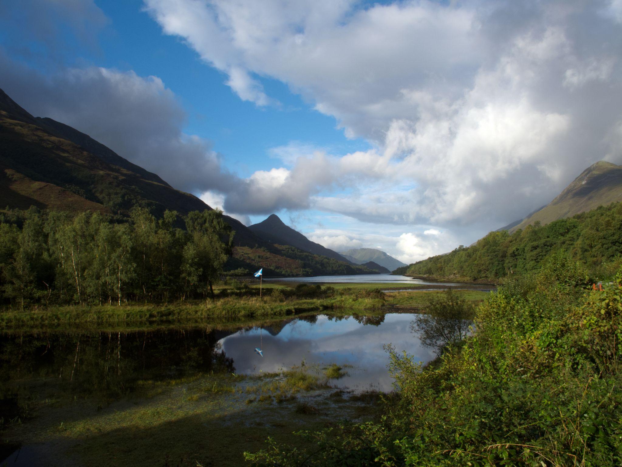 Loch Leven view, United Kingdom