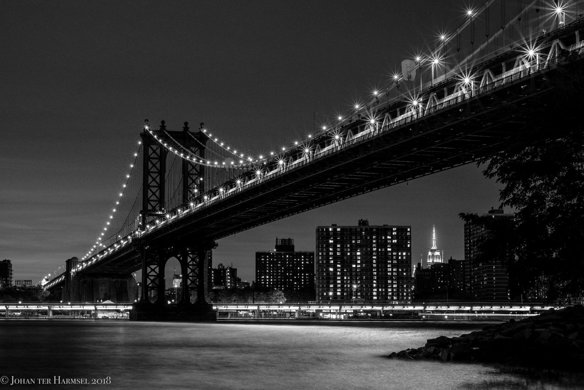 Manhattan Bridge, NY, USA