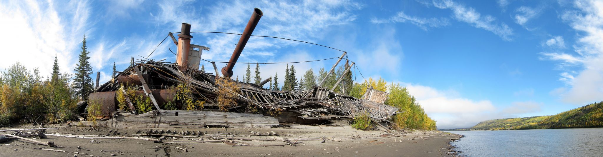 Paddlewheel Graveyard, Yukon, Canada, Canada