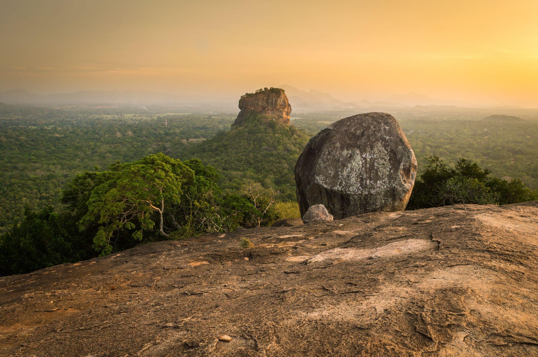 Pidurangala Rock, Sri Lanka