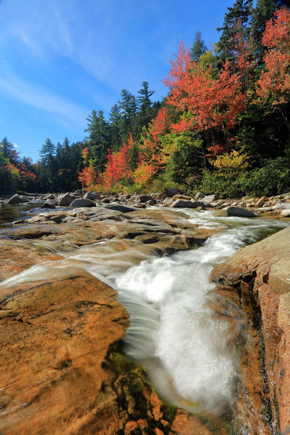Rocky Gorge, White Mountains, NH, USA