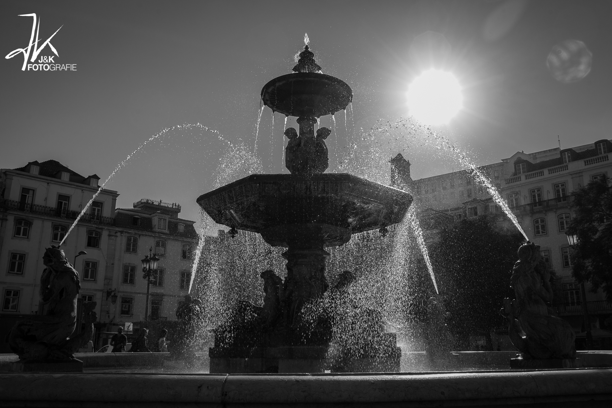 Rossio Fountain, Portugal