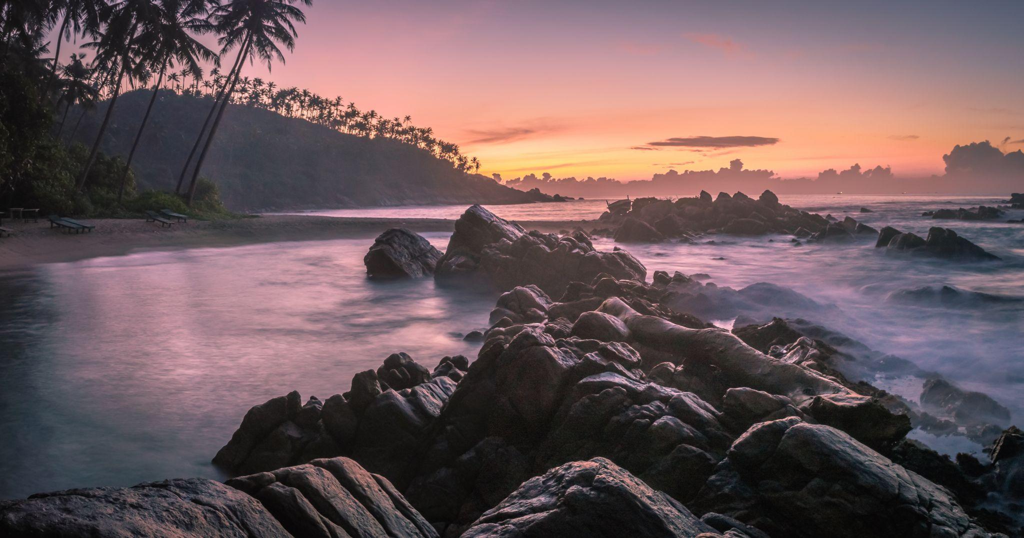 Secret Beach Mirissa, Sri Lanka