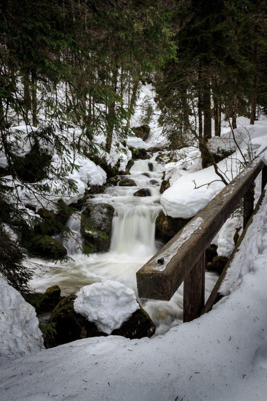Sibli Waterfall (Rottach-Egern), Germany