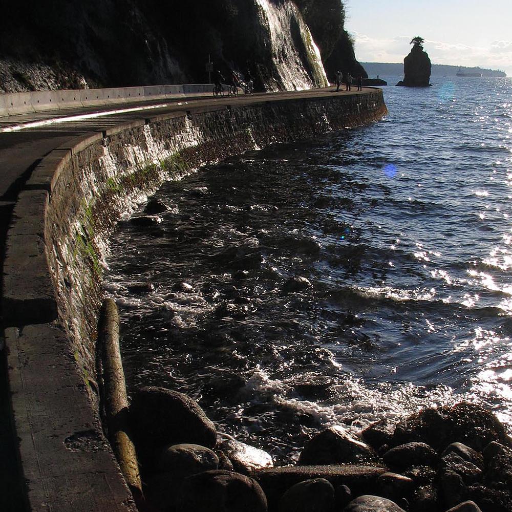 Siwash Rock, Stanley Park, Vancouver, Canada, Canada