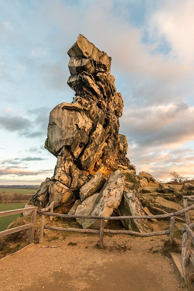 Teufelsmauer Weddersleben, Germany