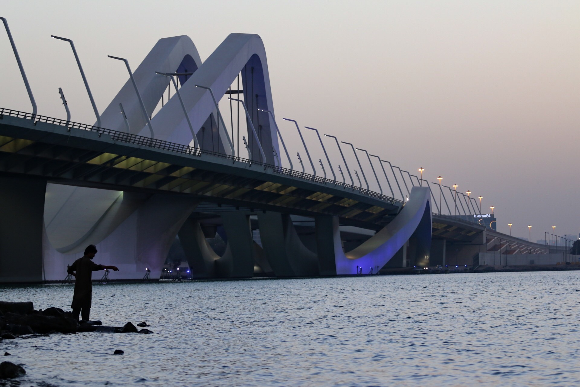 abu dhabi Sunset, United Arab Emirates