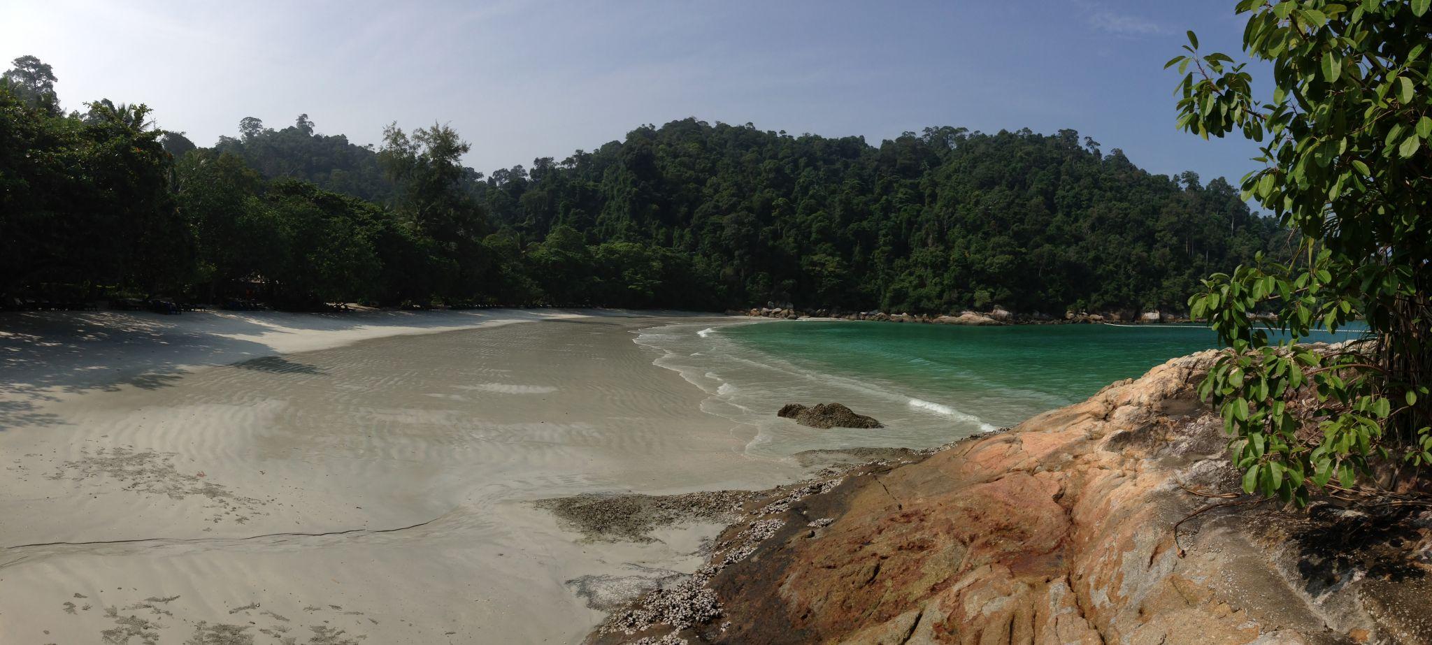 Alone at Emerald Bay, Malaysia