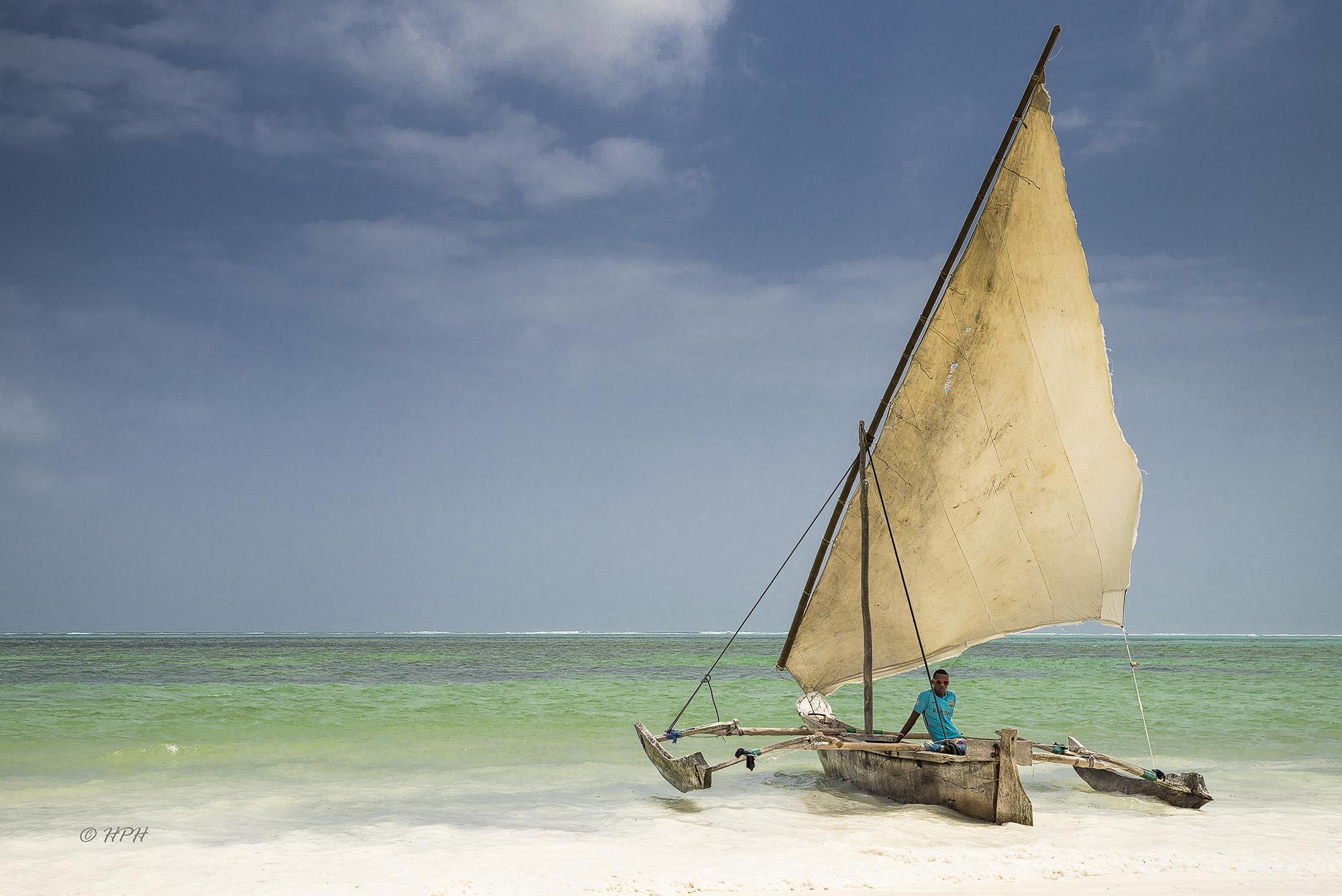 Beach near Pwani Mchangani, Tanzania