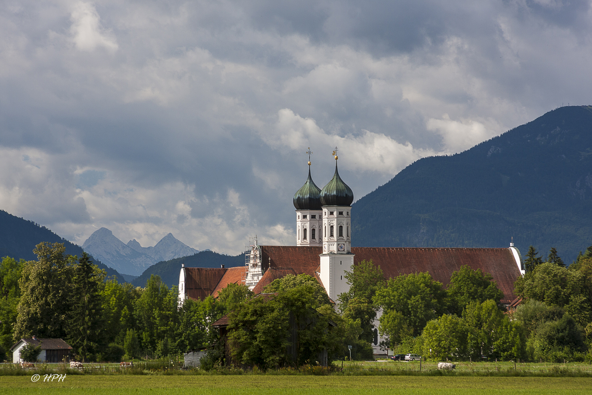 Benediktbeuern Abbey, Germany