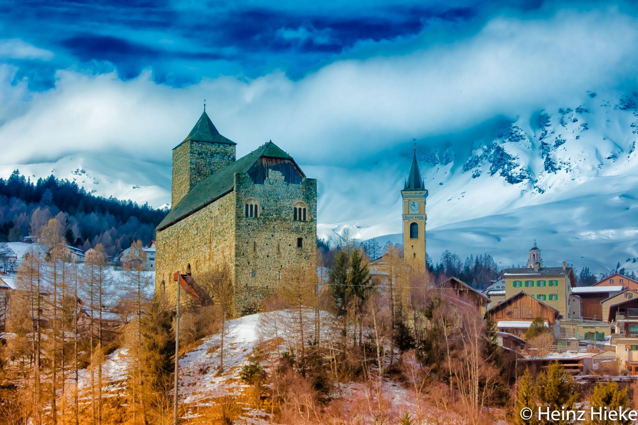 Burg Riom, Switzerland