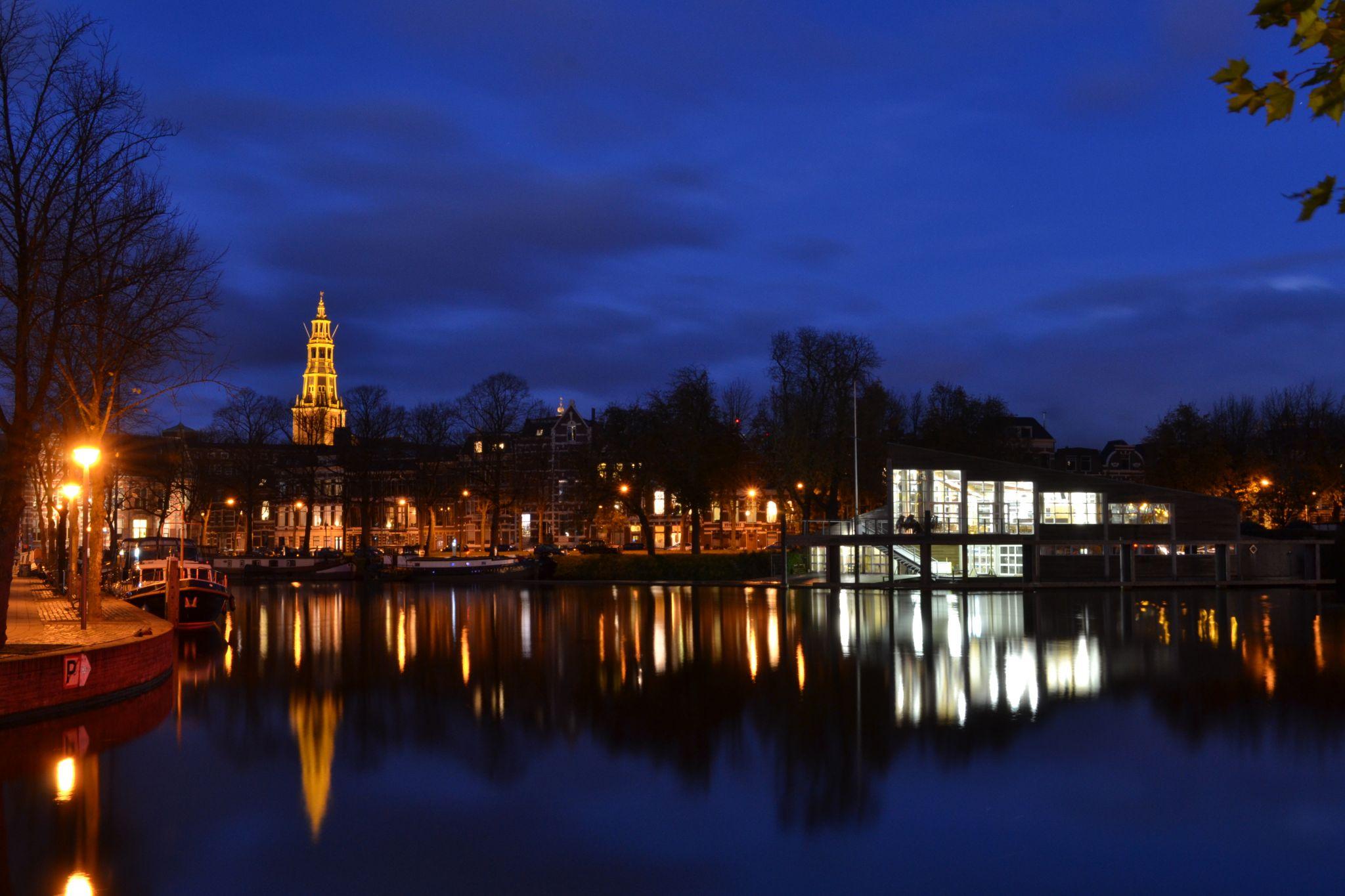 Harbour Zuiderhaven, Groningen, Netherlands