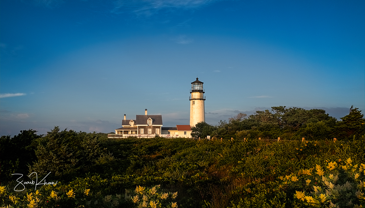 Highland Light Lighthouse of Cape Cod, USA
