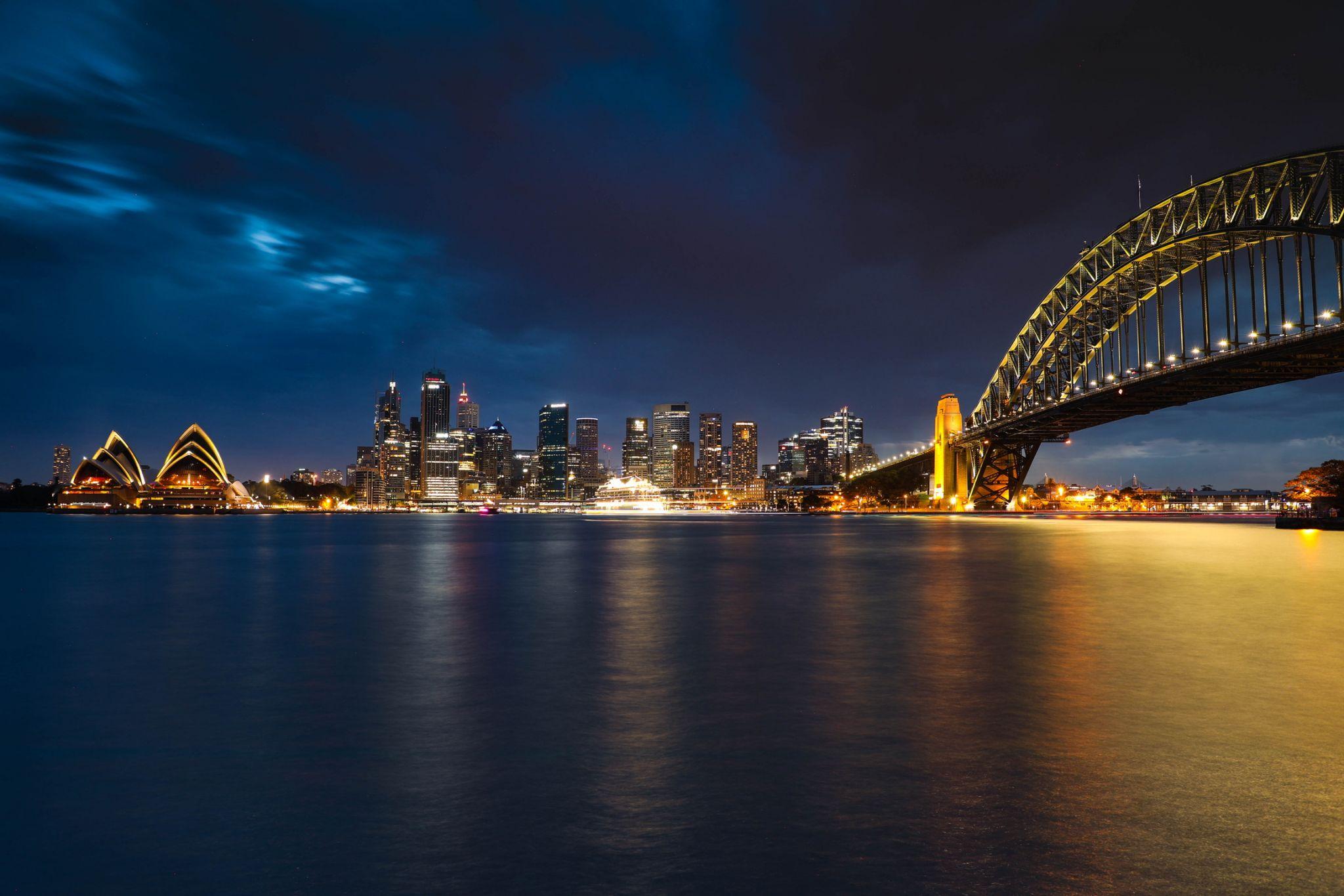 Kirribilli bridge lookout, Australia
