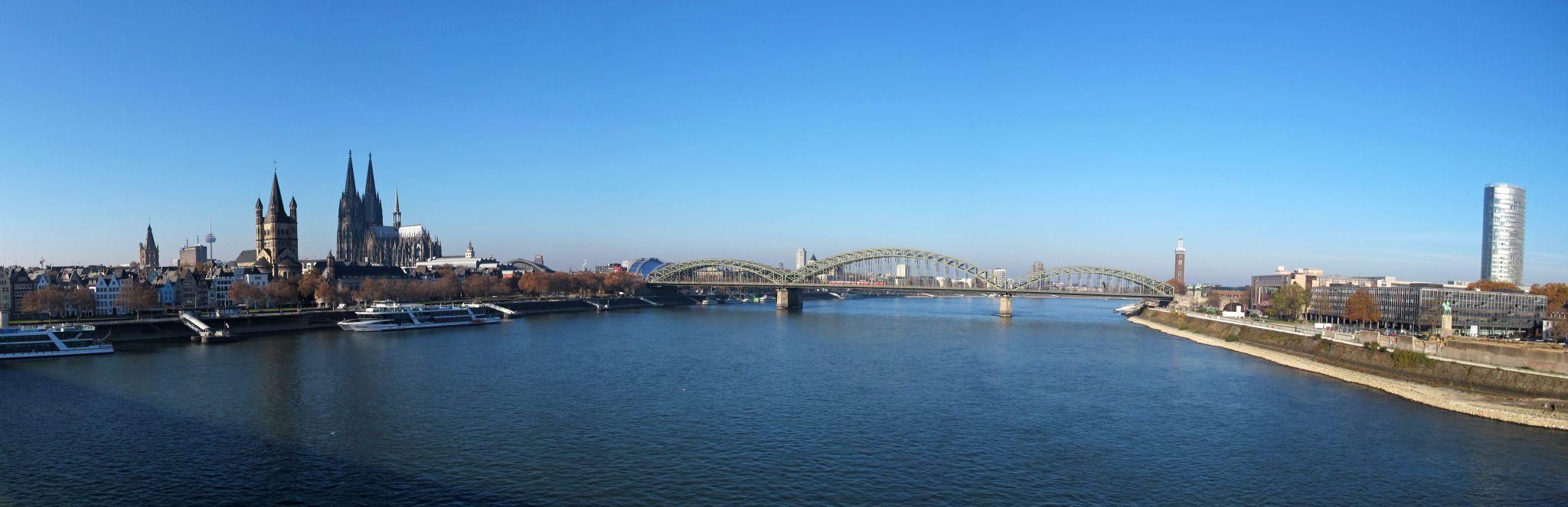 Köln/Cologne Deutzer Brücke, Germany
