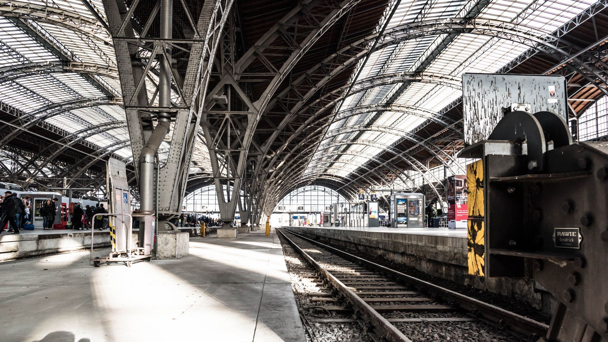 Leipzig Mainstation / Hauptbahnhof, Germany