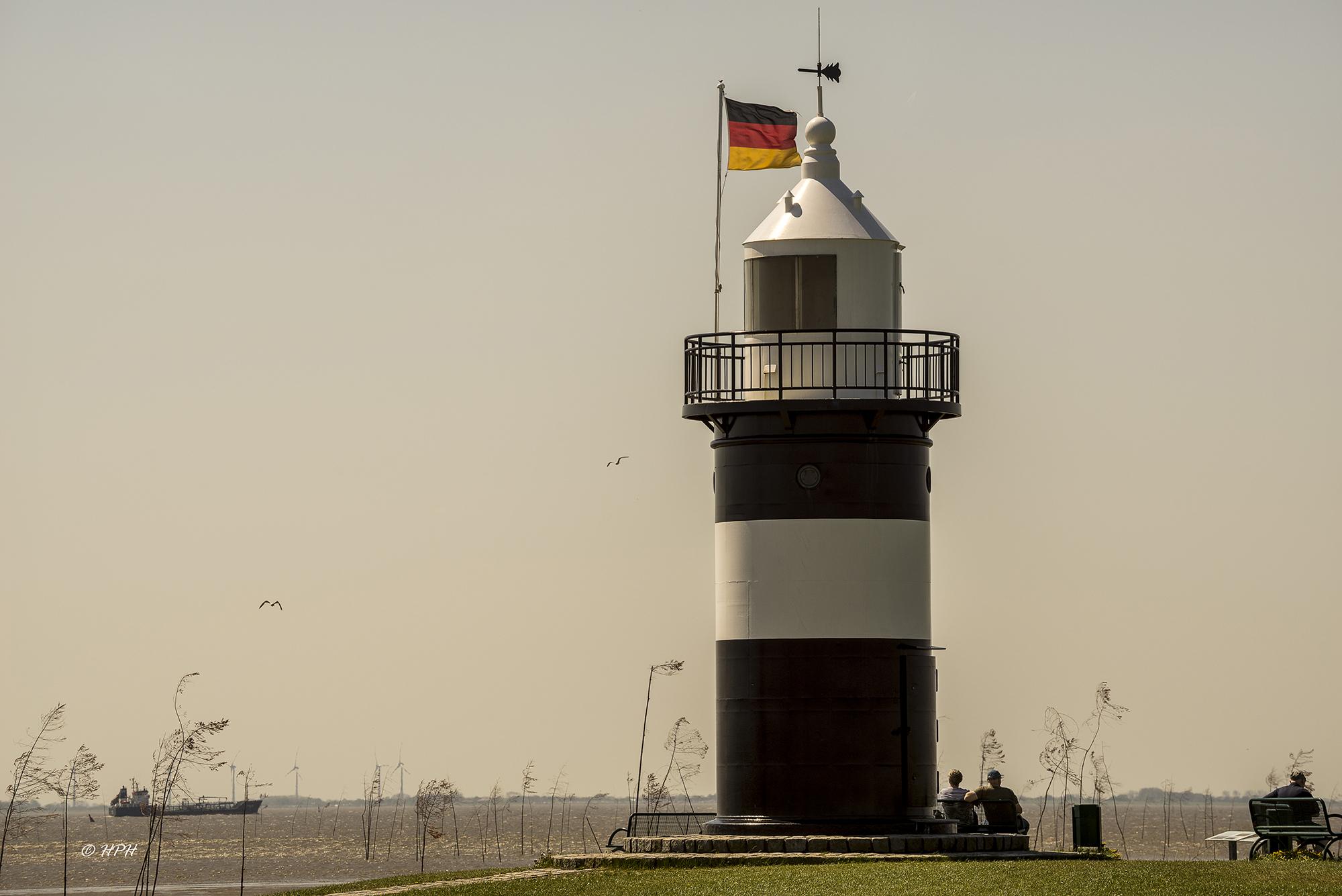 Lighthouse 'Kleiner Preuße', Wremen, Germany